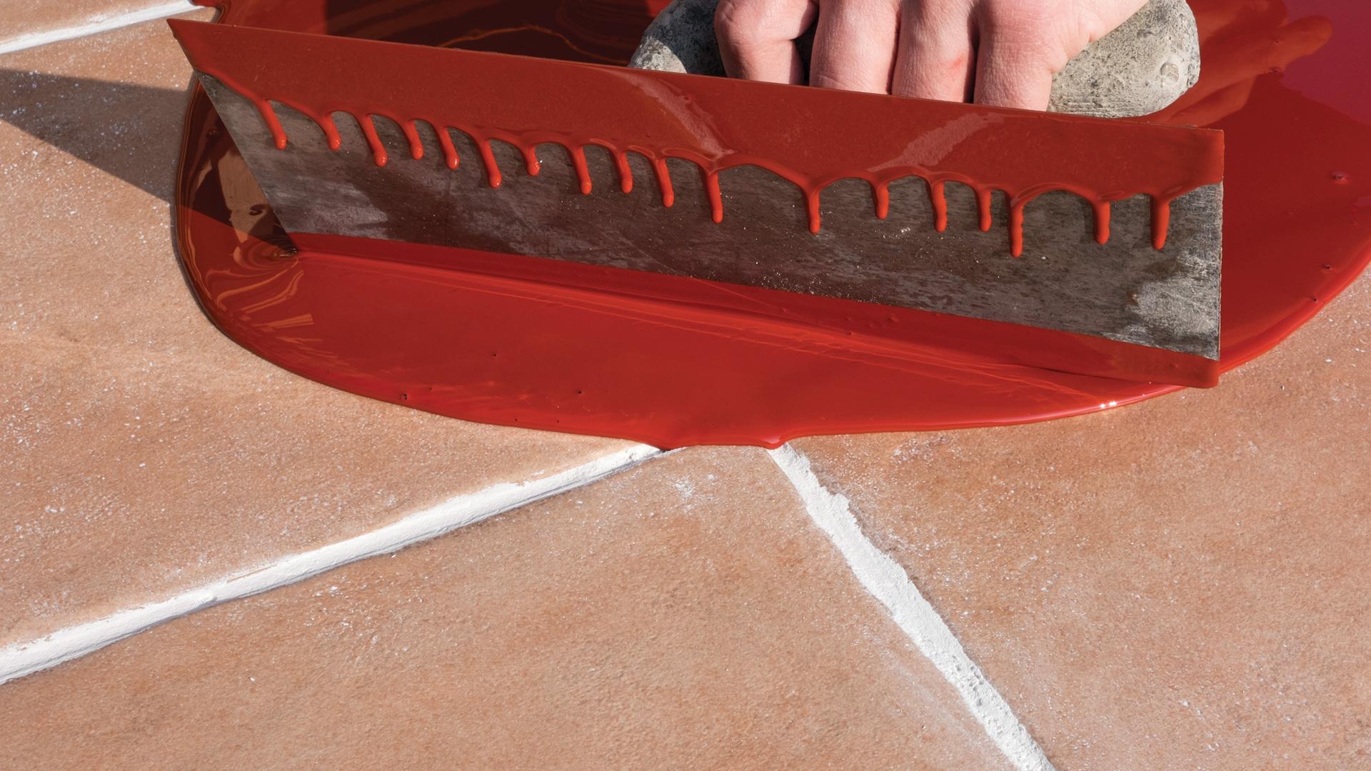 Linea di stucchi membrane liquidi e prodotti per for Guaina liquida mapei