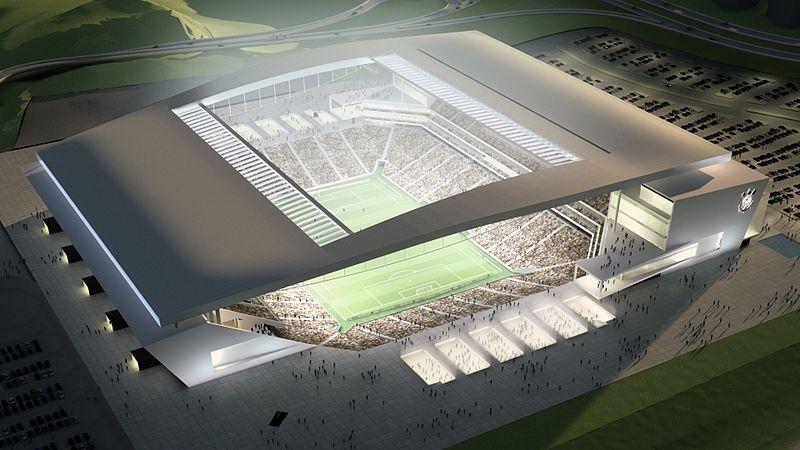 Stadio corinthians san paolo brasile ediliziainrete.it